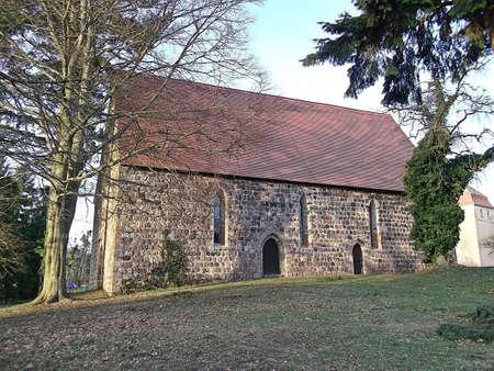 gabled: Evangelical Church in Herzfeld