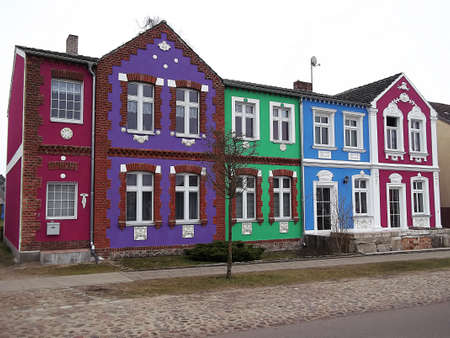 gibel: The colorful house