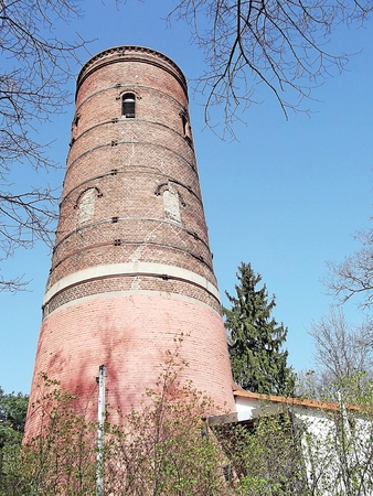 the water tower: Historic Water Tower