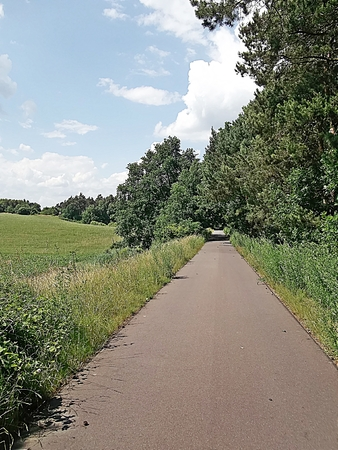 spur: Bicycle Trail Spur der Steine