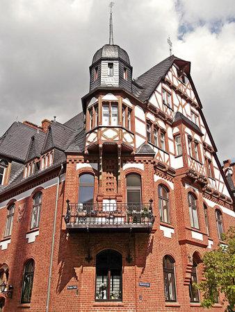 gibel: The half-timbered house