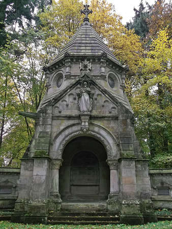 mausoleum: The mausoleum