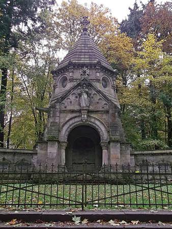 mausoleum: The mausoleum
