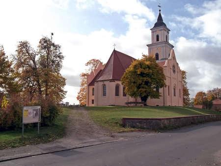 evangelical: Evangelical Church St. Marien Stock Photo