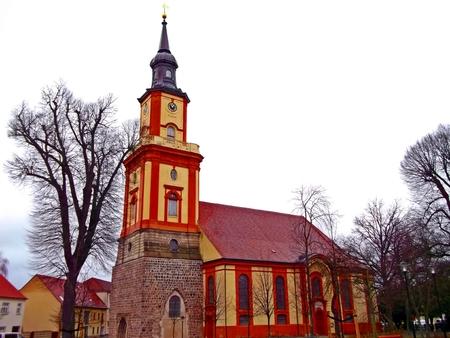 gibel: Mary Magdalene Church Stock Photo