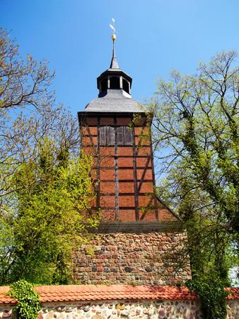 gibel: Evangelical Feldsteinkirche Church in Baumgarten