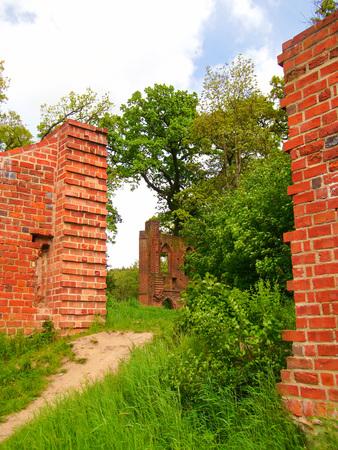The monastery ruins