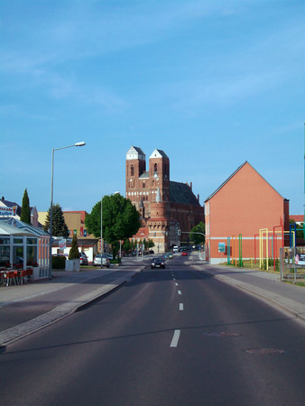 St. Mary Church in Prenzlau