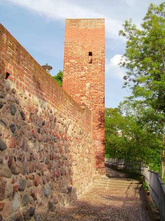 Historic walled city of Prenzlau