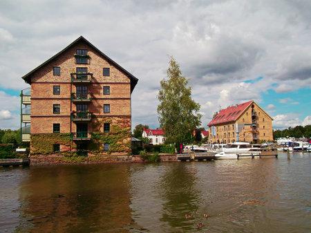The port of Neustrelitz