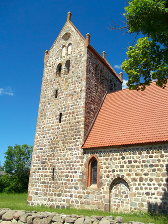 gibel: Evangelical - Lutheran Fortified Church Mechow