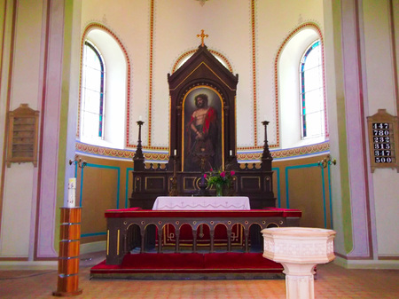lutheran: Altar of the Evangelical Lutheran Church