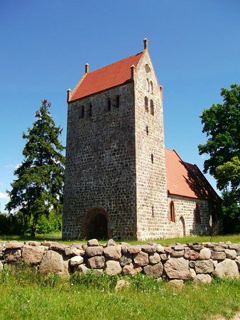 lutheran: Evangelical - Lutheran Fortified Church Mechow