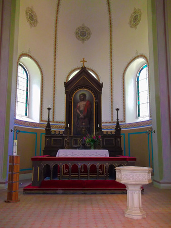Altar of the Evangelical Lutheran Church