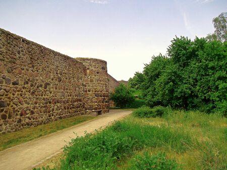 Historic fortress wall