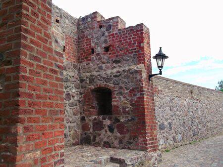Historic town walls