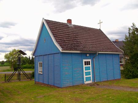 gibel: Chapel in Carpin Stock Photo