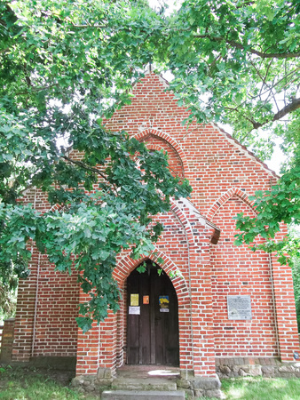 gibel: Chapel in Conow Stock Photo