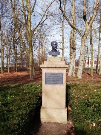 Bust of Gebhard Leberecht von Bluecher, Fuerst Wahlstatt (born December 16, 1742 in Rostock, â € Sept. 12, 1819 in Krobielowice, Silesia) Editorial