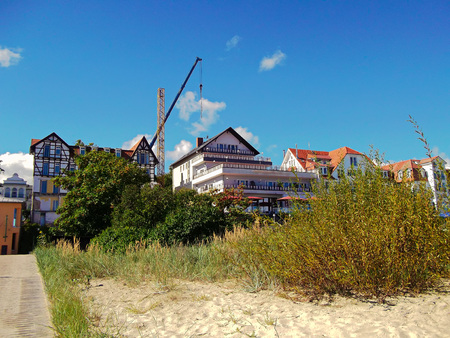 The island of Usedom Stock Photo