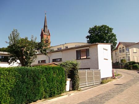 Churches on Usedom Stock Photo