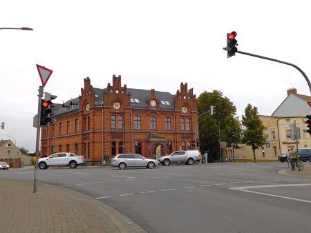 Rues et ruelles d'une vieille ville historique Banque d'images - 86498737