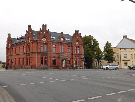 Rues et ruelles d & # 39 ; une vieille ville historique Banque d'images - 86498752