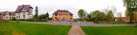 Panorama of the historic city Templin