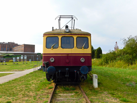 S-Bahn on the former grounds of the Army Research Institute Peenem?nde