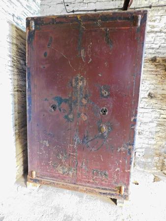 A historically old safe