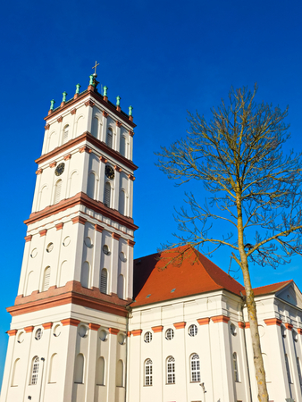 Evangelical Lutheran City Church in Northern Germany