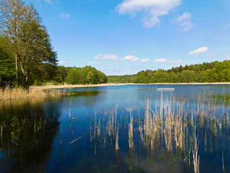 The Uckermark with all its charms Stockfoto