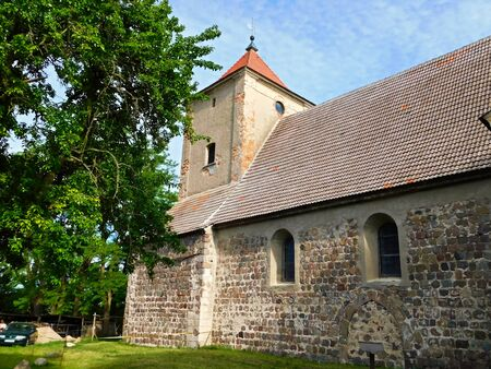 Protestant village church from the 13th century