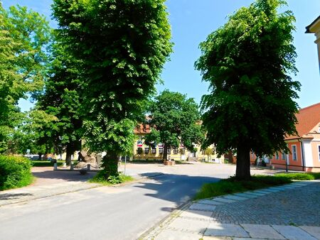 A small town in the Brandenburg district