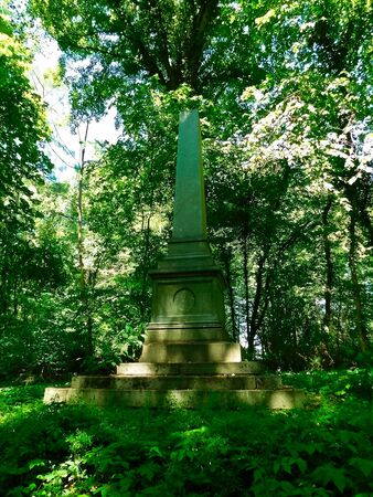 The Obelisk commemorates the Royal Prussian Minister of State Stock fotó