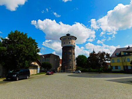 The former water tower as a holiday apartment