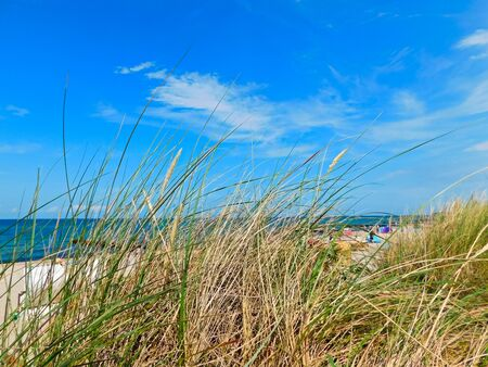 Holiday on the beautiful Baltic sea coast Banque d'images