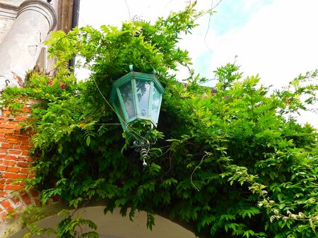 An old lantern from the Middle Ages