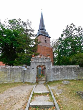 At Evangelical Lutheran Church in Northern Germany