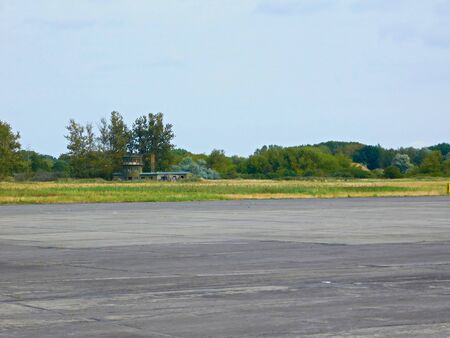 A former military airfield