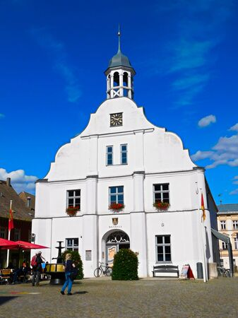 Historic town hall on the town hall square