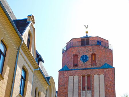The evangelical Sankt Petri church in the historic old town