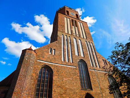 The evangelical Sankt Petri church Stock fotó