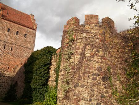 Historic city gate from the 13th century