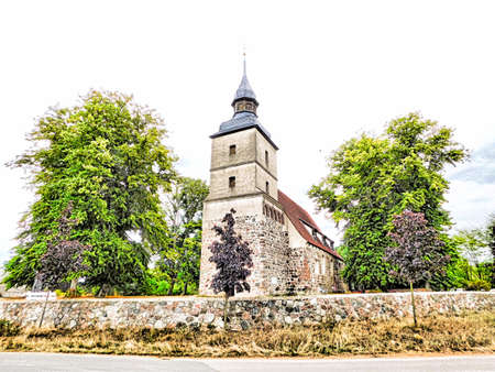 Evangelical church house from the 15th century