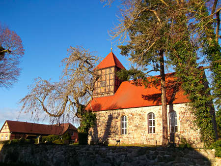 Evangelical stone church Peter and Paul