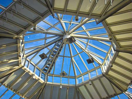 Skylight in a Uckermark shopping center