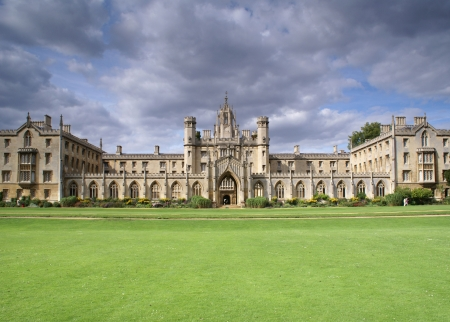 St. Johns College New Court, University of Cambridge Stock Photo - 5860400