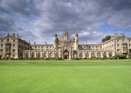 cambridge: St. Johns College New Court, University of Cambridge