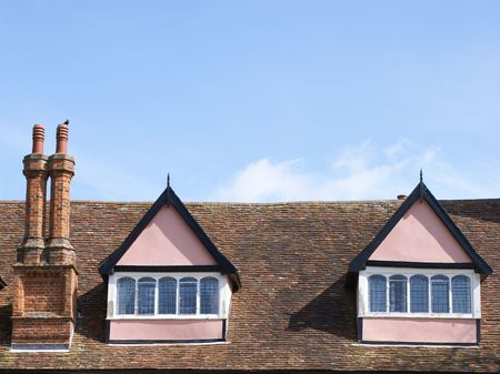 Loft of Clare Priory, Suffolk photo